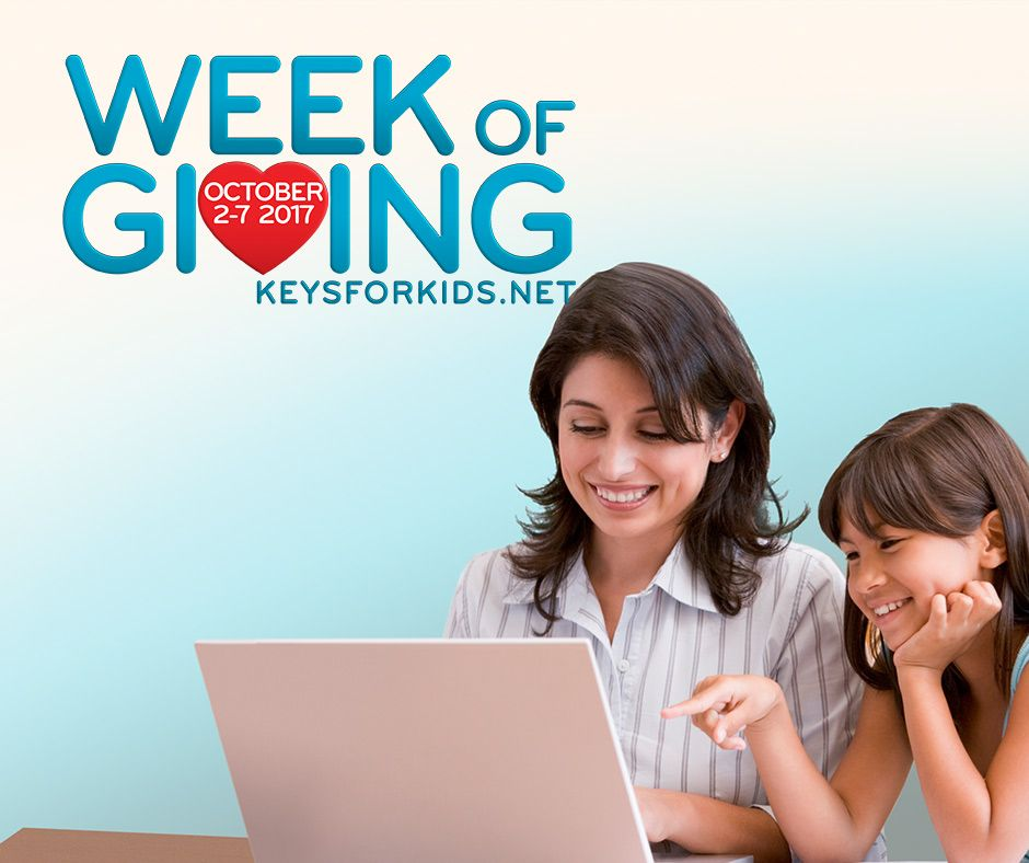 Keys for Kids Radio Week of Giving