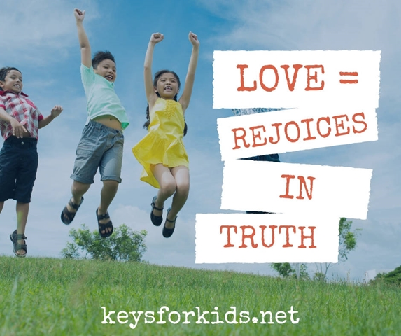 Love Rejoices in the Truth - Love Does Giveaway!