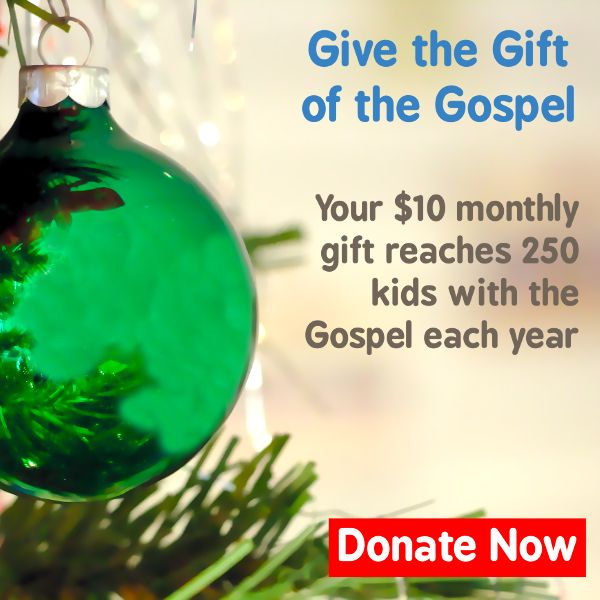 Give the Gift of the Gospel. Donate to Keys for Kids Radio today